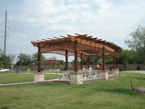 Homeowners Association Covered Picnic Area Kimzey